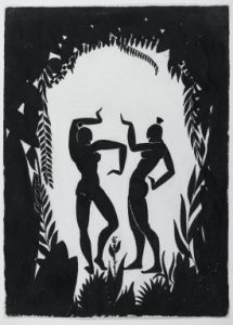 GAYHRichard Bruce Nugent (American, 1906-1987). Dancing Figures, ca. 1935CollBrooklynMuseum