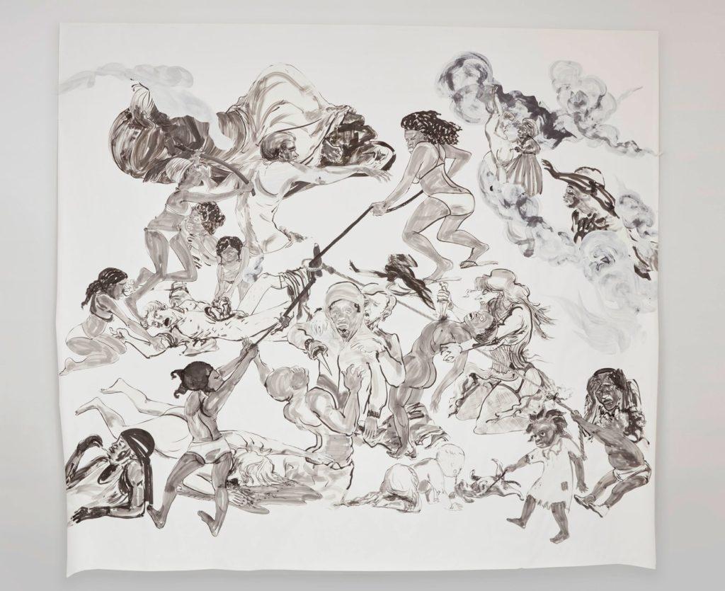 KWThe Pool Party of Sardanapalus (after Delacroix, Kienholz), 2017