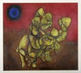 SB'The Poet' by Nathaniel 'Nat' Ntwayakgosi Mokgosi (1946-2002).