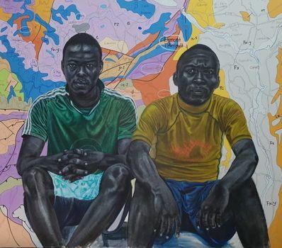 Jean David Nkot, 'Army's brothers@agadez.com', 2019