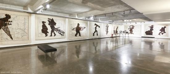 WilliamKWitsArtMuseumInstallationView2019