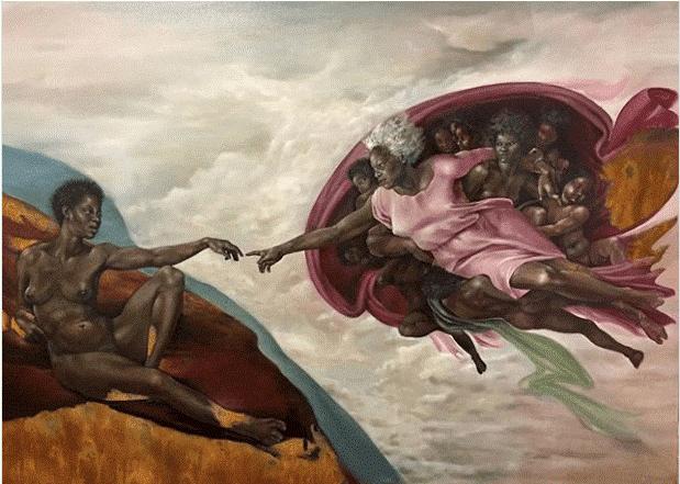 BlackWomenThe Creation of God Harmonia Rosales (2)