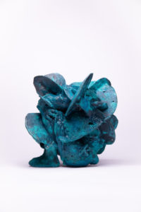 StaniTrzebinski-Stanislaw-What-Have-We-Done-II-ST176-Patinated-Solid-Copper-2020-30x31x30-version2 (1)