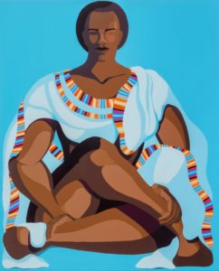 NiritFigure, acrylic on canvas, 100x80 cm, 2020 Nirit takele - Nirit Takele