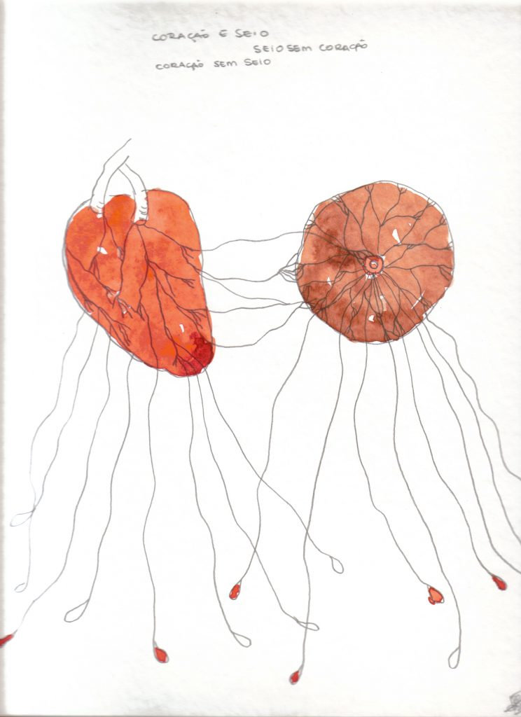 Rosana-Paulino-Coração-e-seio-Heart-and-Breast-from-Wet-Nurse-series-2005-acrylic-paint-and-graphite-on-paper-325-x-25-cm.-Private-Collection-744x1024