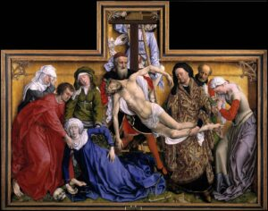 Rogier Van Der Weyden The descent from the cross