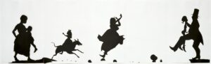 Kara Walker The Means to an End...A Shadow Drama in Five Acts, 1995