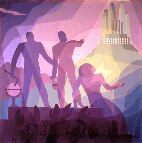 PrijsAaron Douglas, Aspiration, 1935